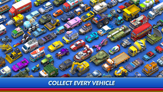 Micro Machines Now on iOS
