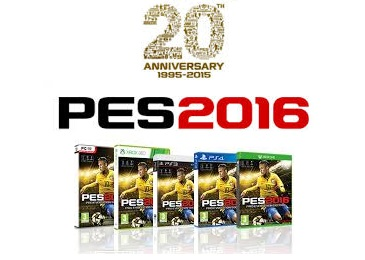 PES2016 Released Today