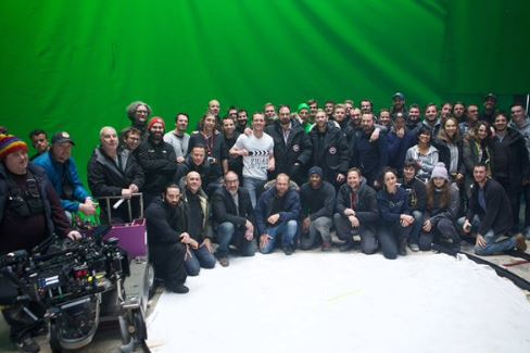 Final Filming of the Assassins Creed Film finishes with a team photo