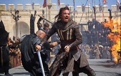 Assassins Creed Movie Set Photos