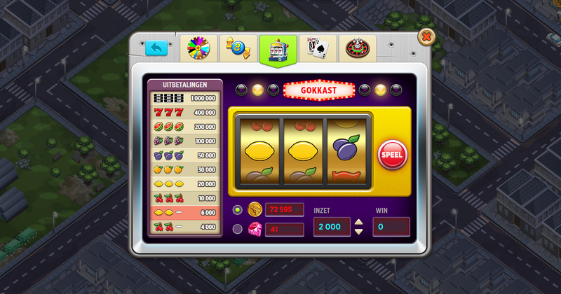 Example slots game